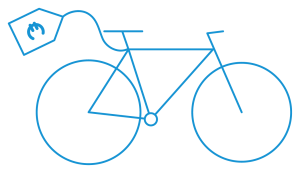 bike sale pictogram blue - Cycle Croatia