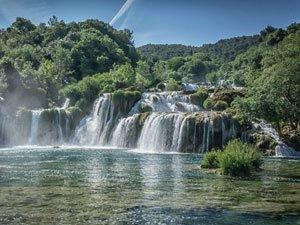 Krka waterfalls - Croatian Bucket List - Cycle Croatia