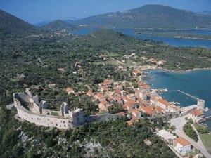 walls of Ston - Croatian Bucket List - Cycle Croatia