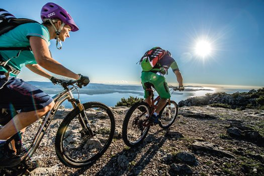 guided multi-day MTB trips Dalmatia - Cycle Croatia
