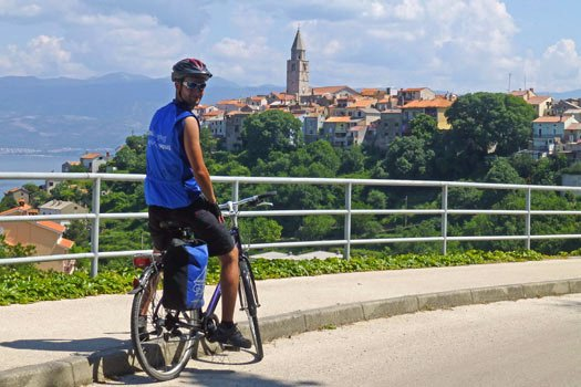guided day cycling trips Kvarner Bay - Cycle Croatia