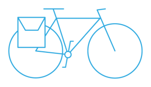 cycling day tour pictogram blue - Cycle Croatia