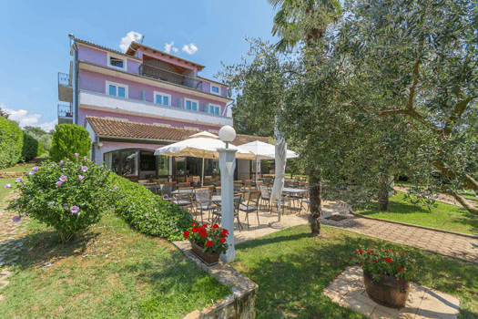 Villa Gloria Porec - bike-friendly hotel Istria