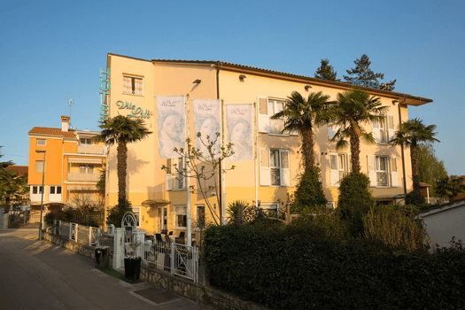Villa Lili Rovinj - bike-friendly hotel Istria