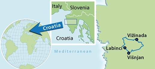 Porec gastro cycling day tour - Cycle Croatia