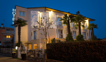 Villa Lili Rovinj - bike-friendly hotel in Istria
