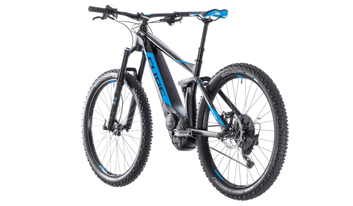 E-Fully Cube Stereo Hybrid 140 SL 500 - bike rental Croatia
