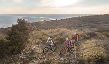 Porec MTB day tour - mountain biking in Istria - Cycle Croatia