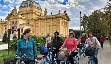 Zagreb city bike tour with Blue Bike - Cycle Croatia