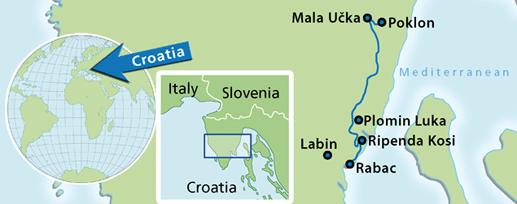 Ucka MTB Day tour from Rabac/Istria - Cycle Croatia