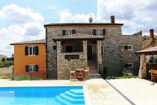 Villa Vial in Labinci