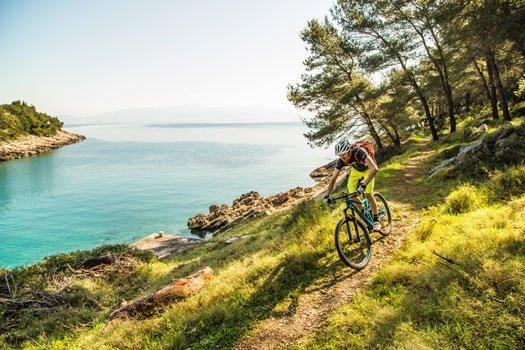 MTB & Schiff Nationalparks Dalmatiens