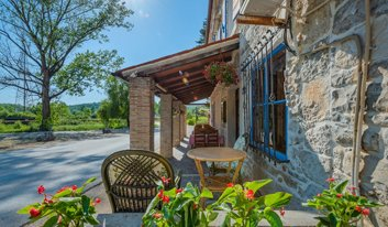 Hotel Ponte Porton in Groznjan in Istria from outside