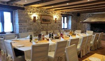 restaurant of hotel Ponte Porton in Istria